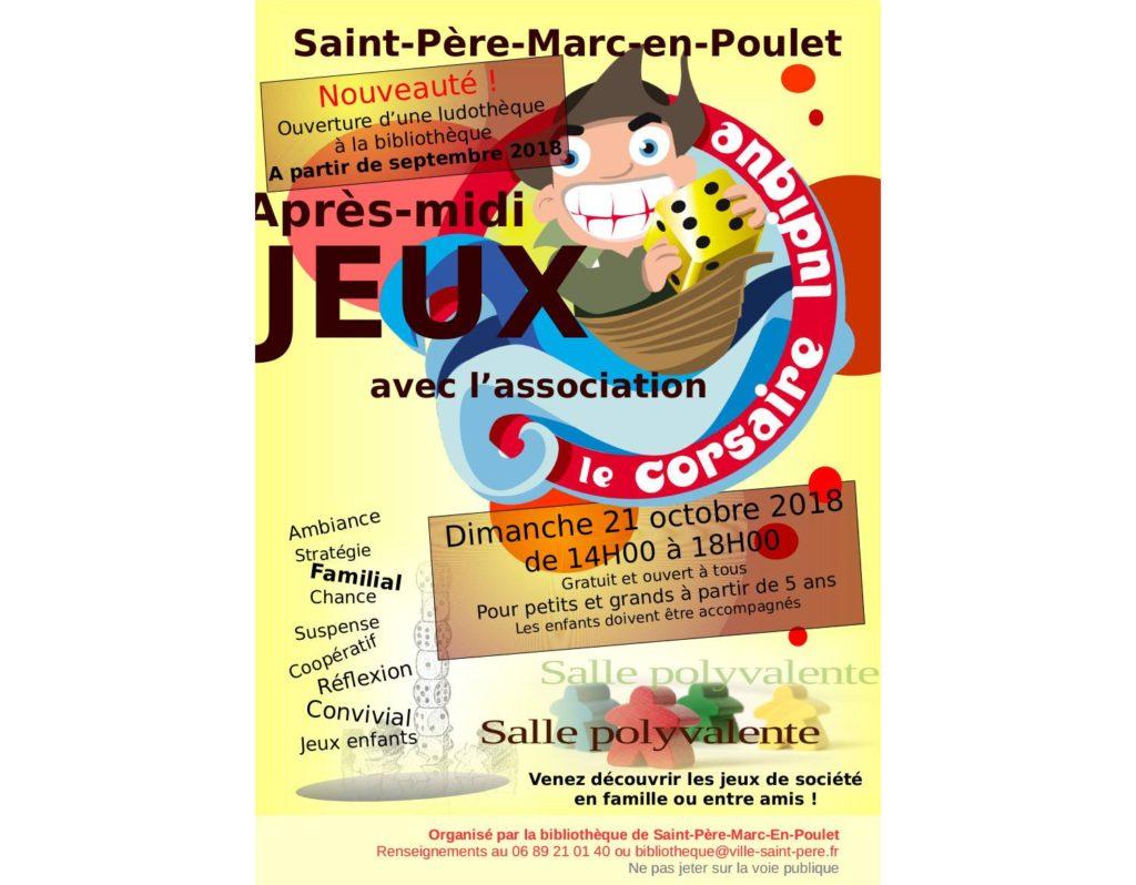 Affiche St Père - Octobre 2018